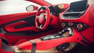 2020 Aston Martin DBS GT Zagato Interior