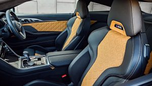 BMW M8 Competition Coupe 2020 Interior Wallpaper