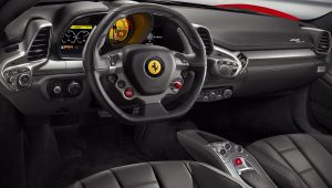 Ferrari 458 Italia 2015 Interior Wallpaper