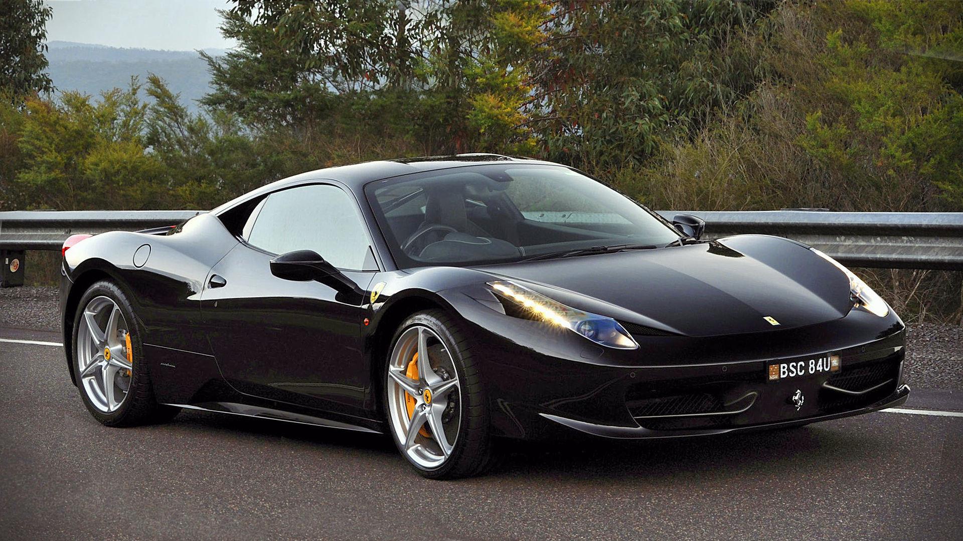 2015 Ferrari 458 Italia Black