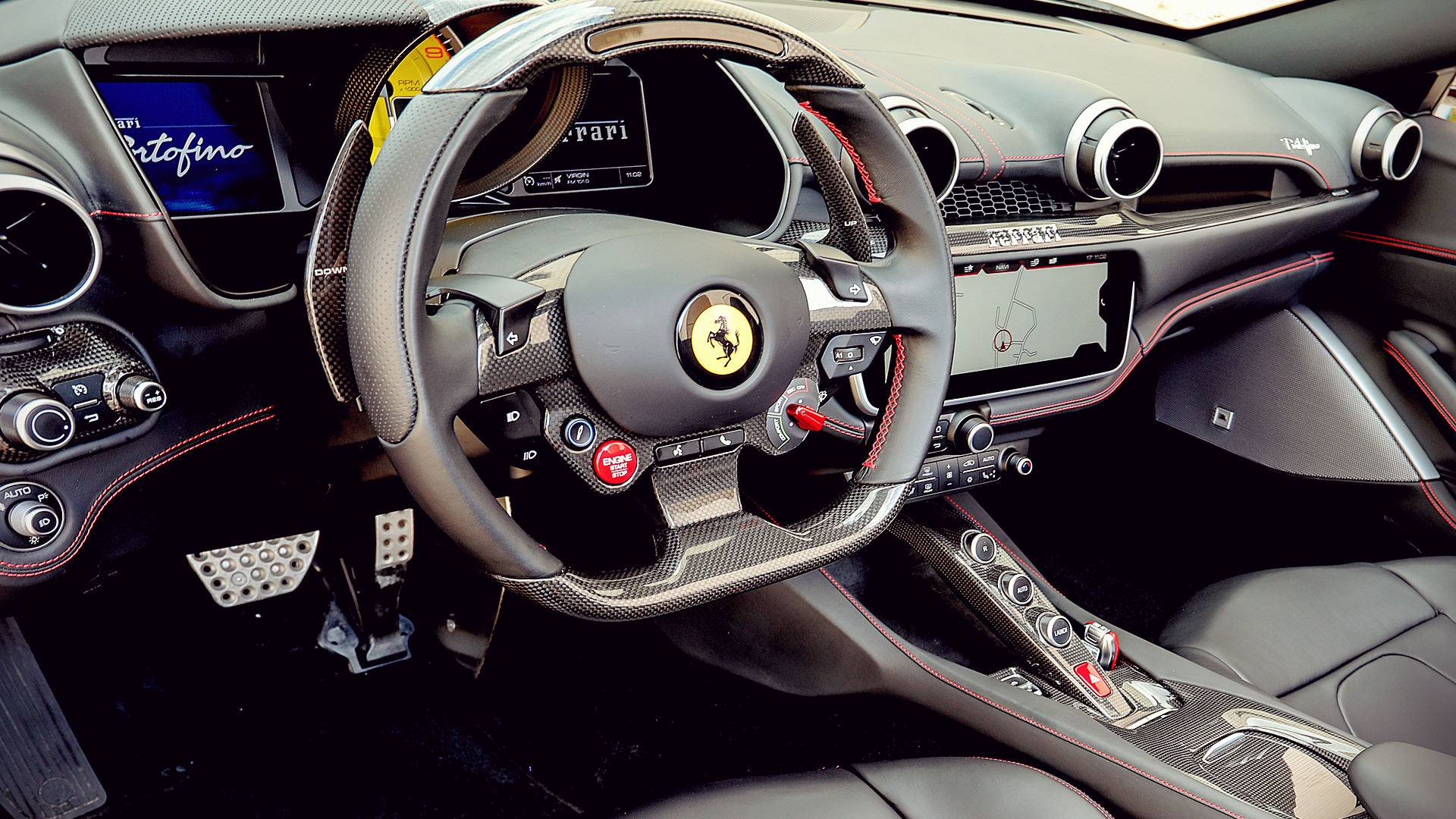 2018 Ferrari California Interior