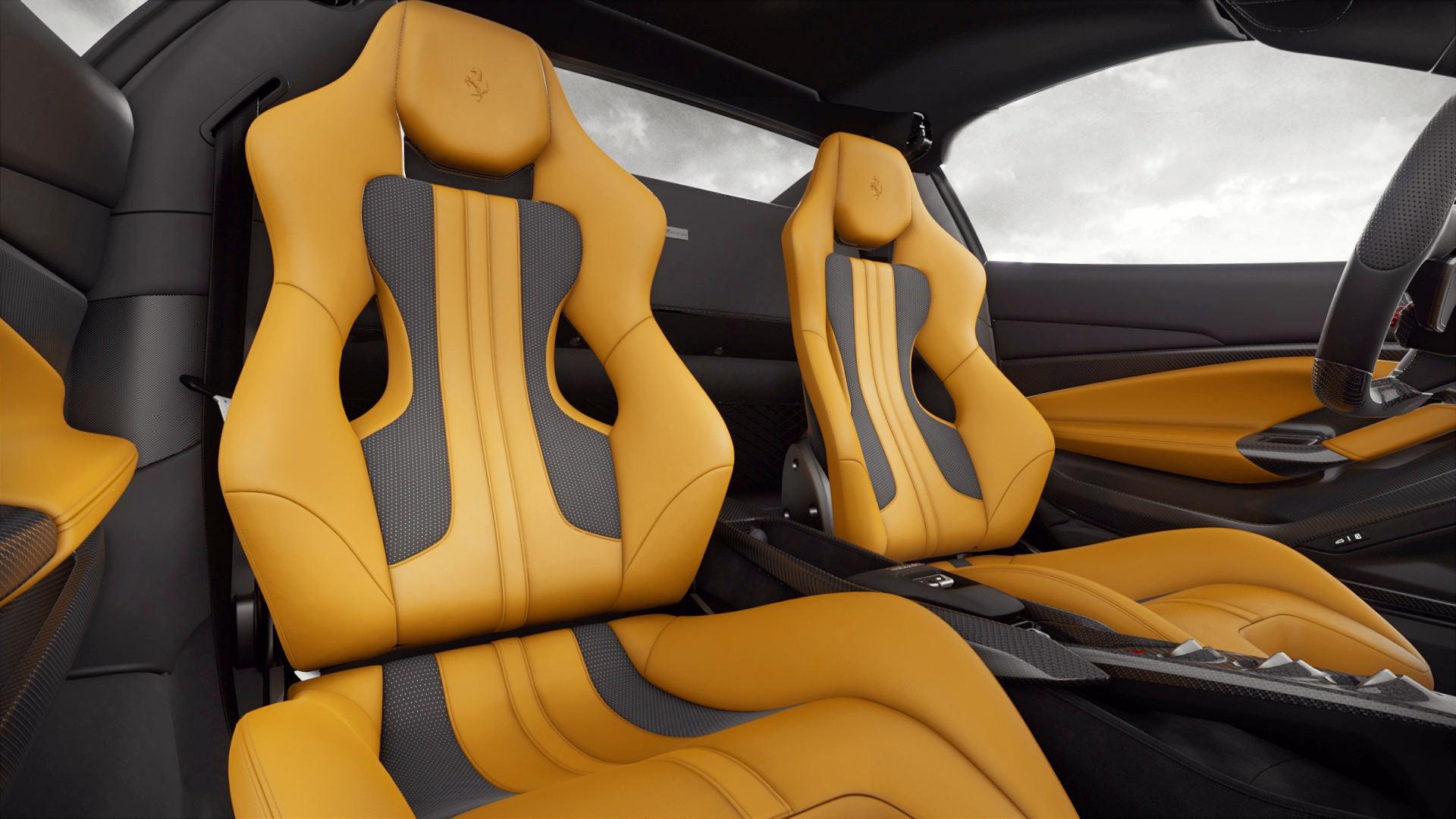 2020 Ferrari F8 Spider Interior