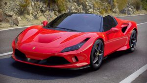 2020 Ferrari F8 Spider Red Colors