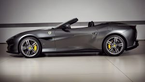 2019 Ferrari Portofino Black Wallpaper