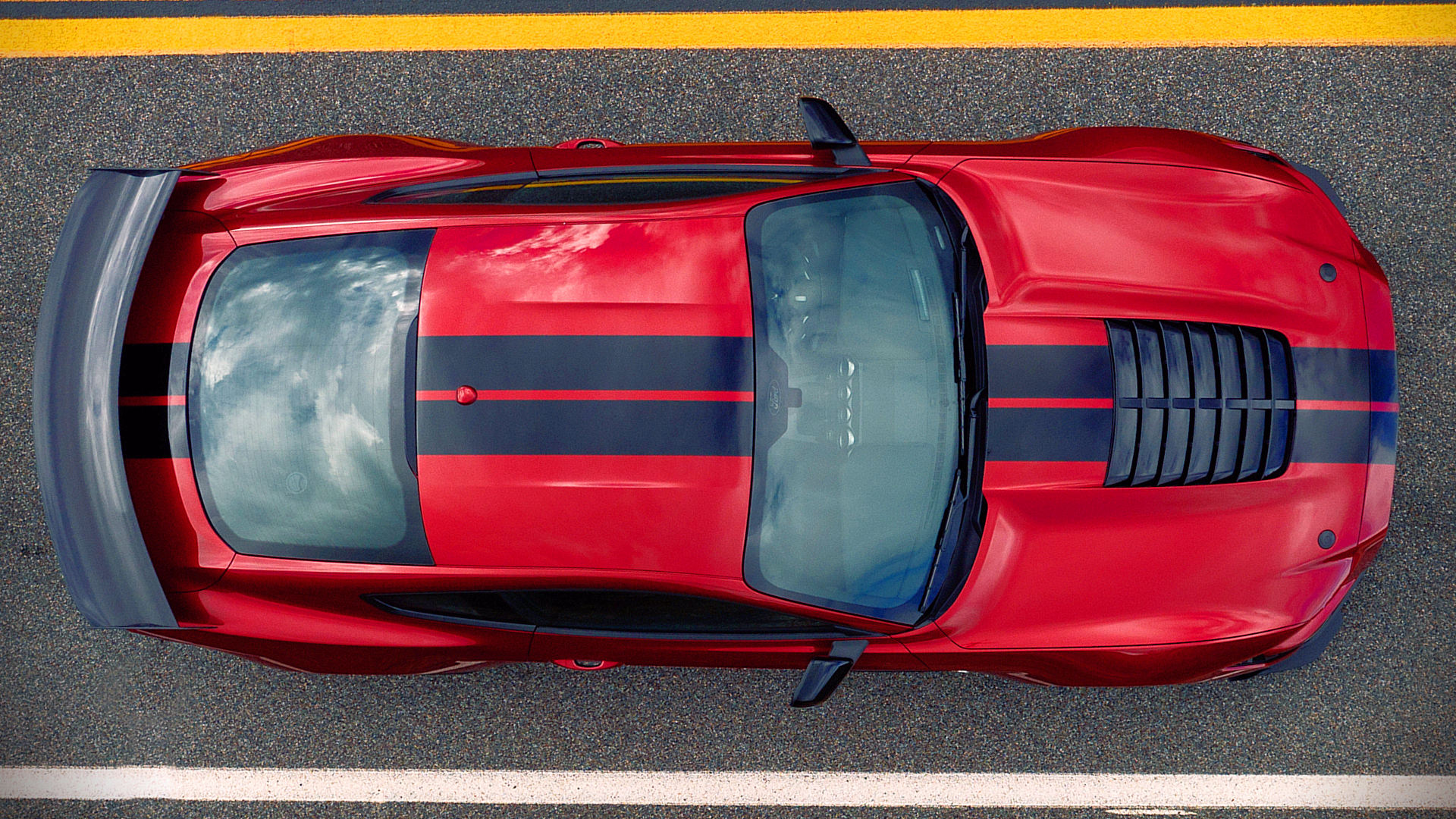 2020 Ford Mustang Shelby GT500 Red Images