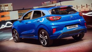 Ford Puma SUV 2020 Images