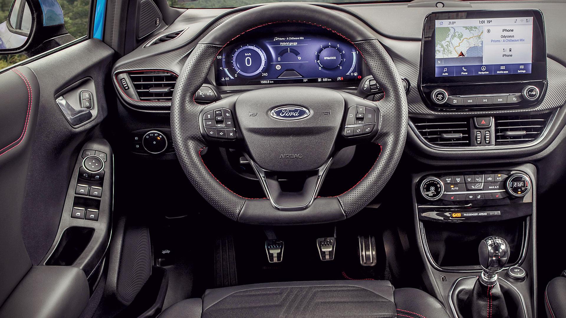 2020 Ford Puma Interior Inside
