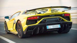 2019 Lamborghini Aventador SVJ Yellow