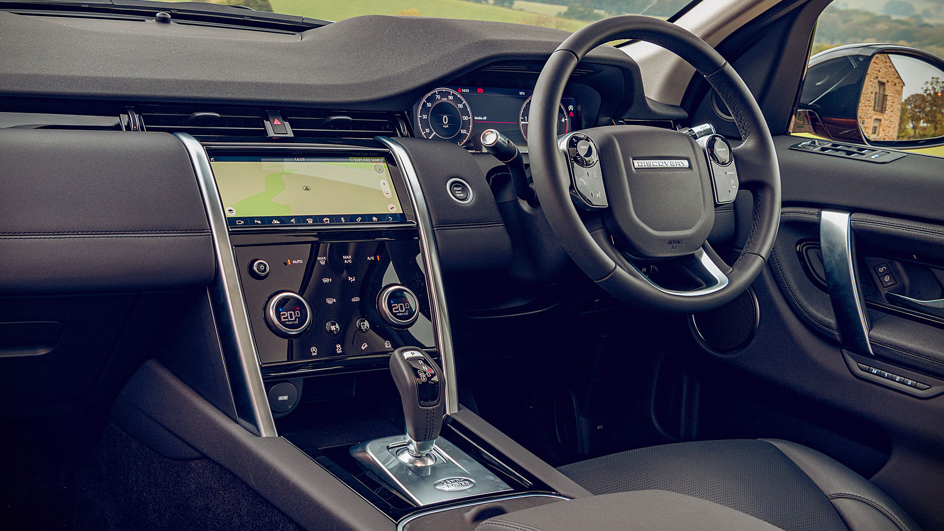 2020 Land Rover Discovery Sport UK Interior