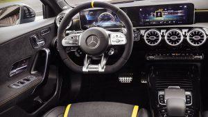 Mercedes A45 AMG 2020 Interior Inside