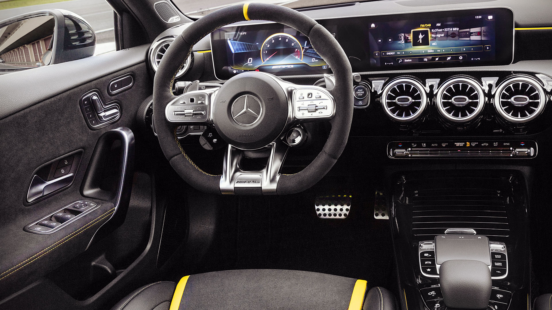 Mercedes A45 AMG 2020 Interior Inside