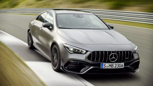 Mercedes Benz CLA 2020 AMG Wallpaper