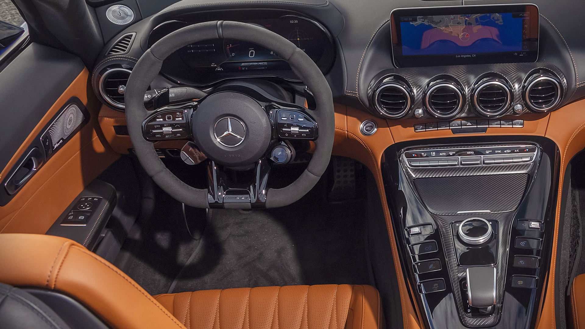 2020 Mercedes-AMG GT R Roadster Interior
