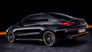 2020 Mercedes CLA 250 Black