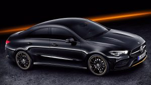 2020 Mercedes CLA 250 Black Wallpaper