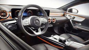 2020 Mercedes CLA 250 Interior