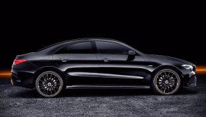 2020 Mercedes Benz CLA Class Black