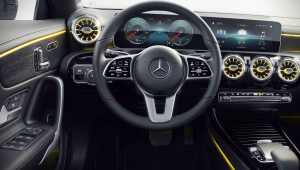 2020 Mercedes Benz CLA Class Interior