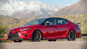 2020 Toyota Camry TRD Red Images
