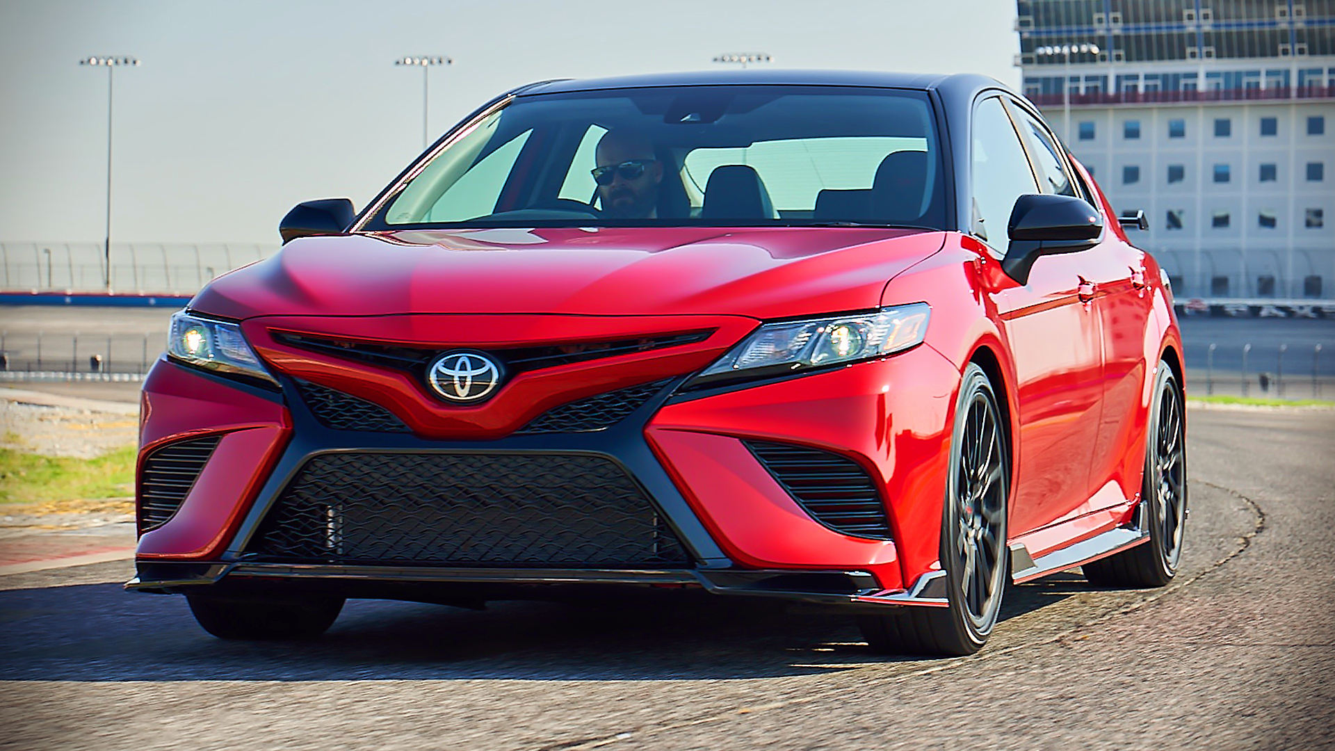 2020 Toyota Camry TRD Red Pictures Images