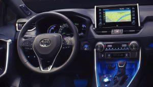 2019 Toyota RAV4 Hybrid XLE Interior
