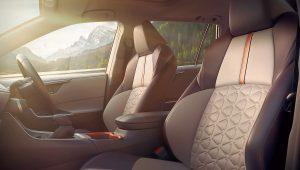 2019 Toyota RAV4 Hybrid XSE Interior Images