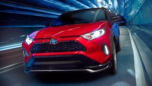 2021 Toyota RAV4 Hybrid Pictures
