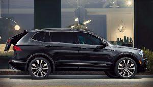 2020 Volkswagen Tiguan Black Wallpaper