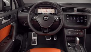 2020 Volkswagen Tiguan Interior Wallpaper