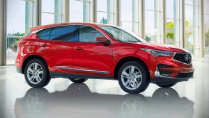 2020 Acura RDX Red Pictures