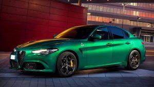 2020 Alfa Romeo Giulia Quadrifoglio Green
