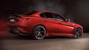 2020 Alfa Romeo Giulia Quadrifoglio Red