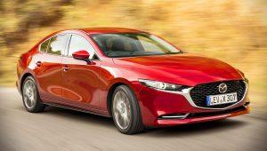 2020 Mazda 3 Sedan Red Pictures
