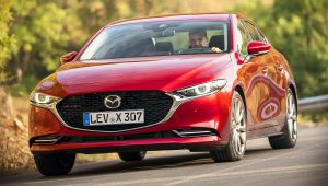 2020 Mazda 3 Sedan Red Images Pictures