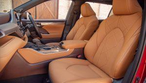 Toyota Highlander 2020 Hybrid Images Interior