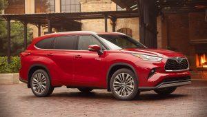 Toyota Highlander 2020 Hybrid Images Pictures