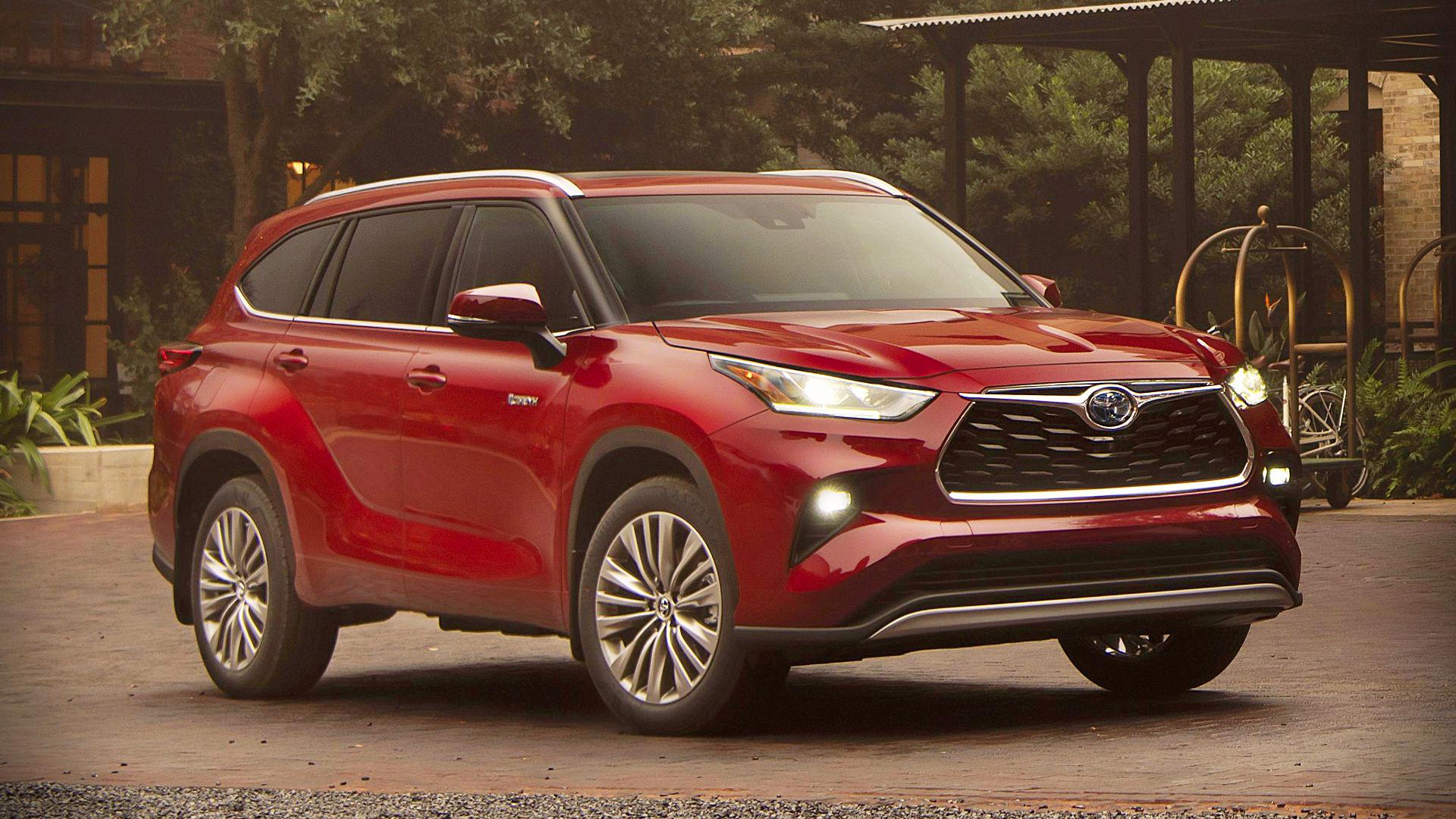 2020 Toyota Highlander Images Pictures