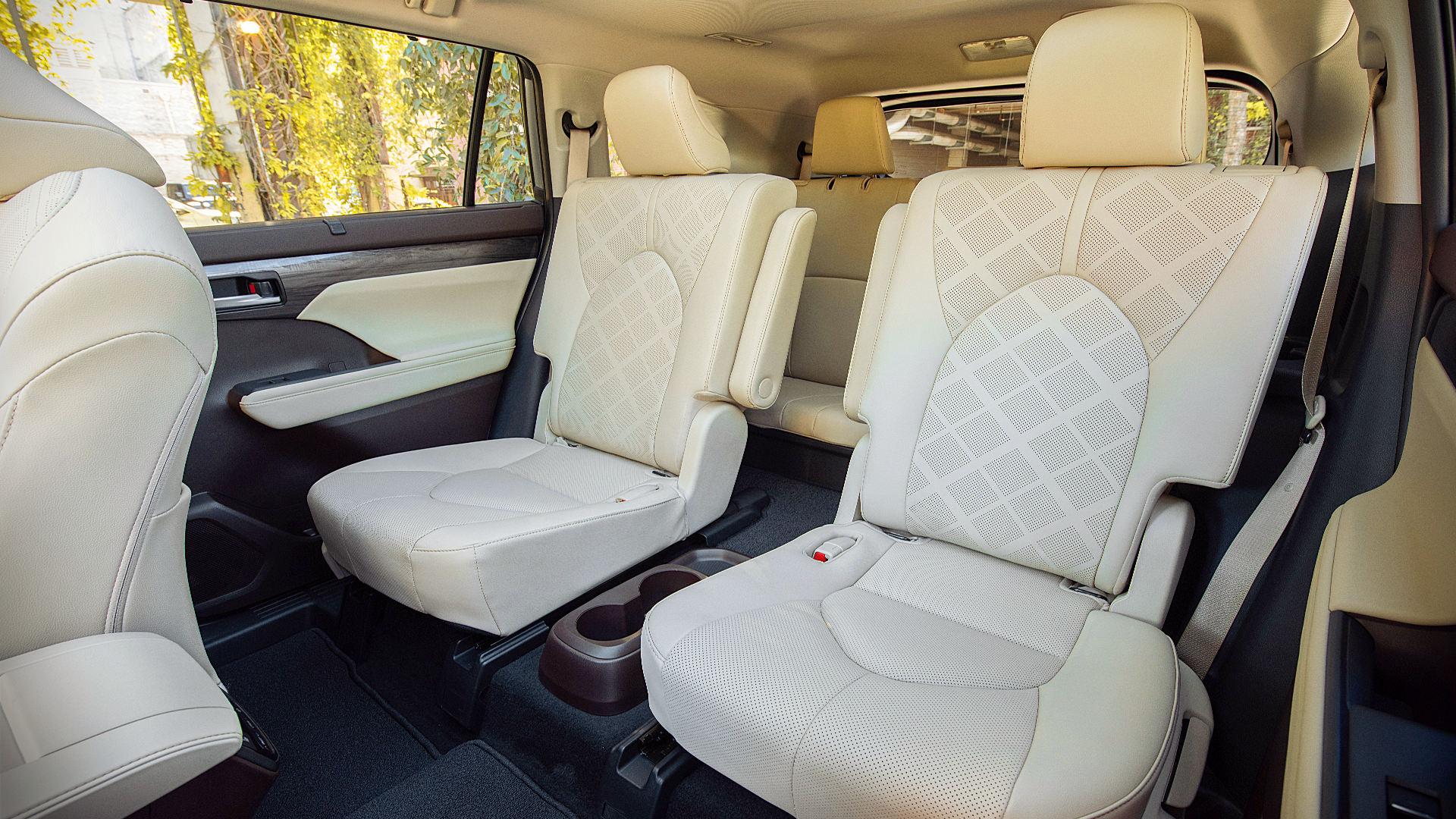 2020 Toyota Highlander Inside Interior