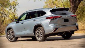 2020 Toyota Highlander Platinum Images
