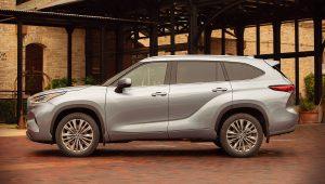 2020 Toyota Highlander Platinum Pictures