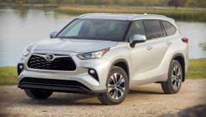 2020 Toyota Highlander XLE Images