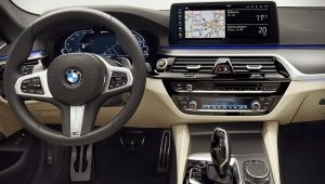 2021 BMW 5-Series 530e xDrive M Sport Interior