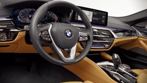 2021 BMW 5-Series 540i Interior Inside