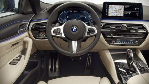 2021 BMW 5-Series Interior