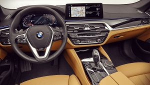 2021 BMW 5-Series Interior Inside Images