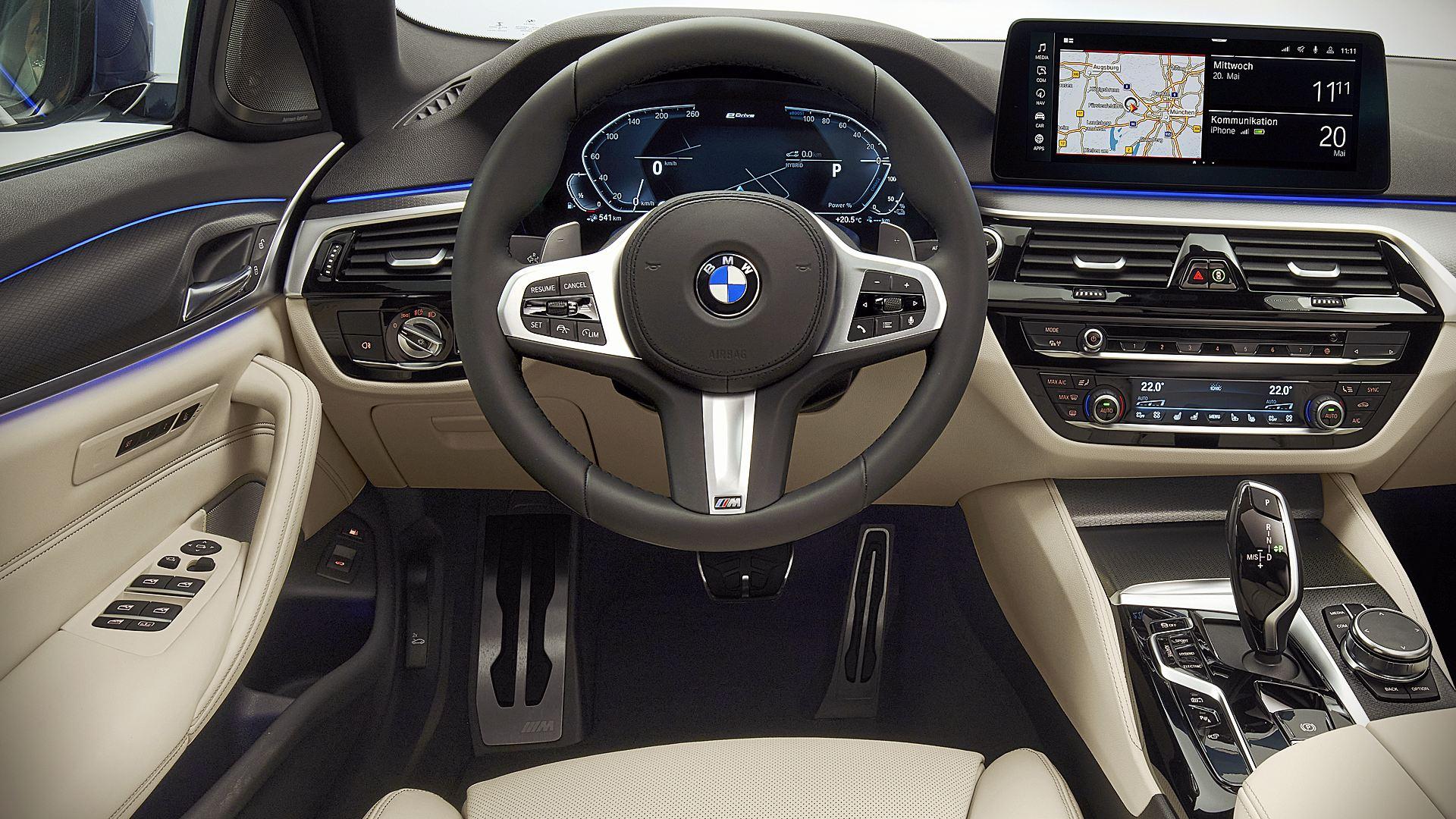 2021 BMW 5-Series Interior