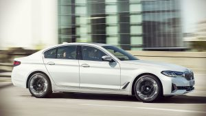 2021 BMW 5-Series White 540i