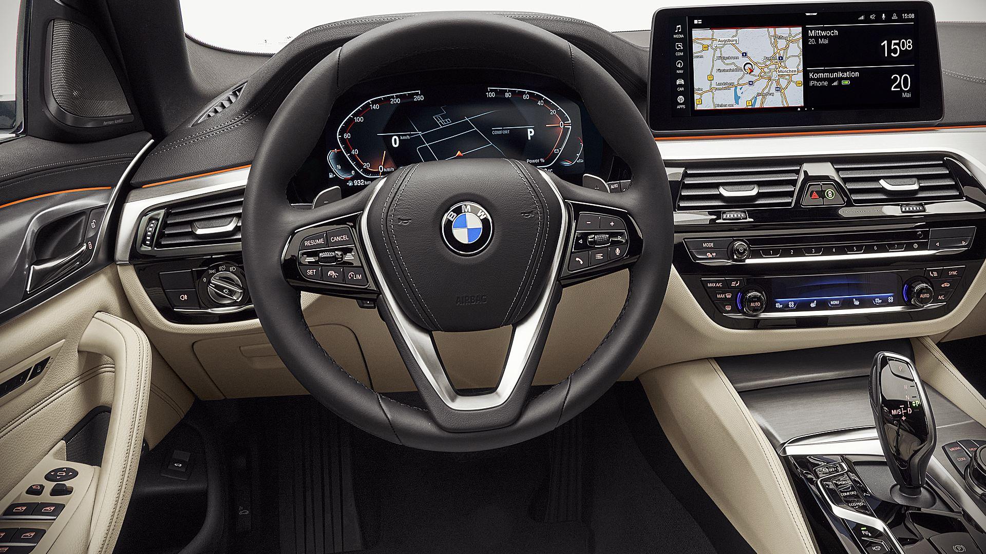 2021 BMW 530i Interior