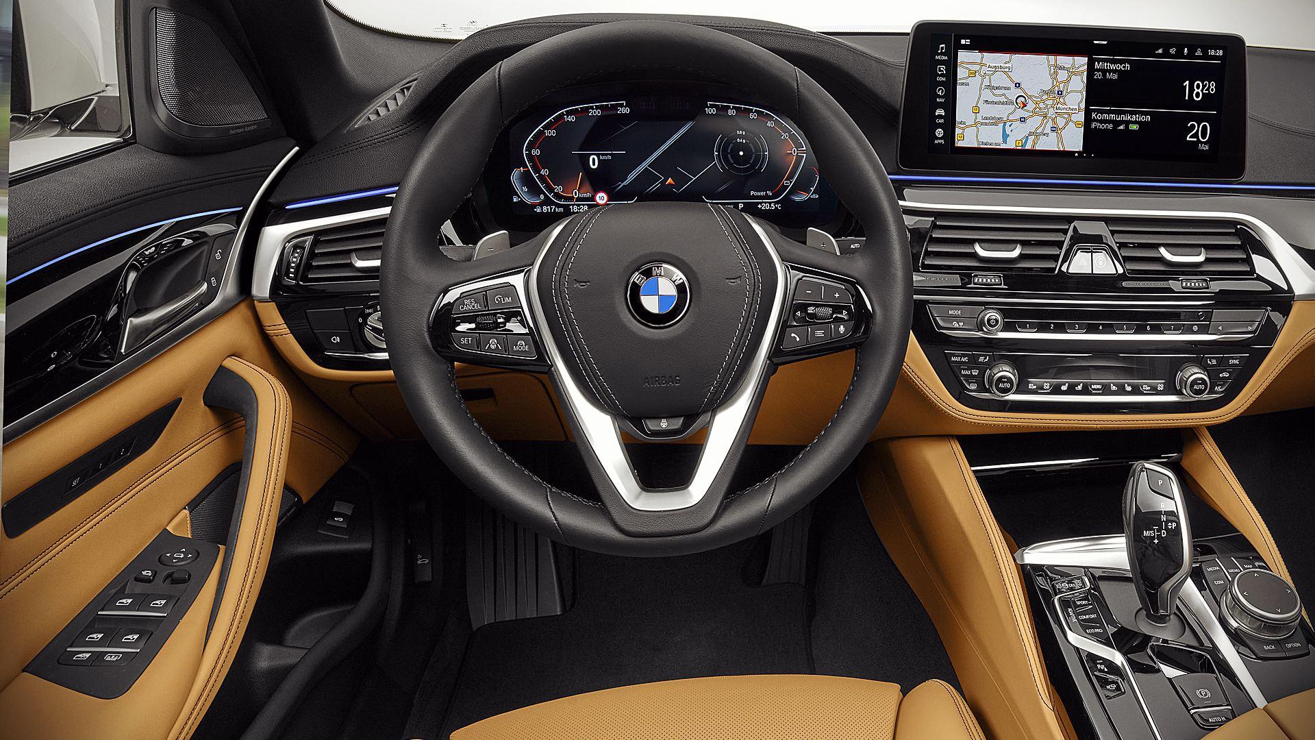 2021 BMW 540i Interior Inside