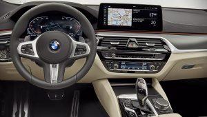 2021 BMW 6-Series GT Interior